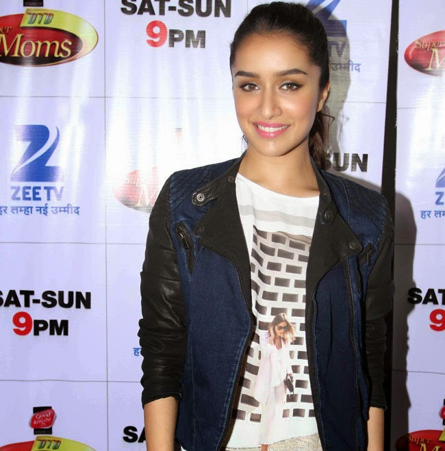 Bollywood actress Shraddha Kapoor at ABCD 2 movie promotion