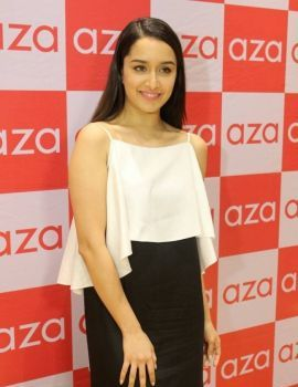 Shraddha Kapoor at Ankita Chokseys New Collection Launch