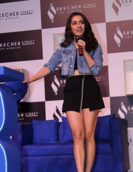 Shraddha Kapoor at Launch of Skechers Street Party