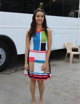 Shraddha Kapoor Pics at Ok Jaanu Media Interaction