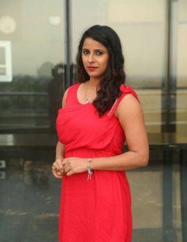 Shravya Reddy Stills at Kaadhali Audio Launch