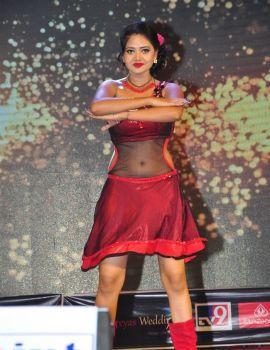 Item Girl Shreya Vyas Dance Photos at Chiranjeevi Birthday