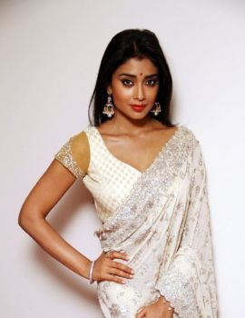 Shriya Saran at Chandra Movie Audio Launch