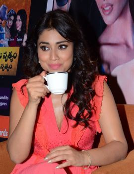 Shriya Saran at RHC Charity Concert Press Meet