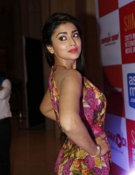 Shriya Saran at SIIMA 2015 Press Meet, Hyderabad