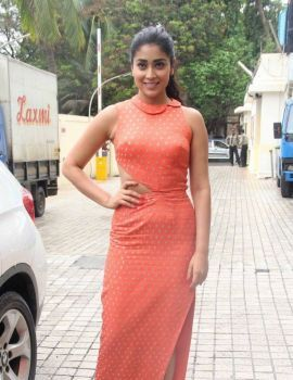 Shriya Saran Stills at Drishyam Movie Promotion Event