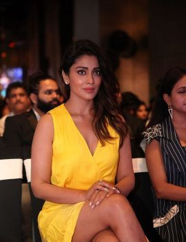 Shriya Saran Stills at SIIMA Awards 2019 Curtain Raiser Event