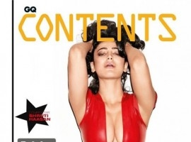 Actress Shruti Hassan Hot Cleavage Stills for GQ Magazine (May 2016)