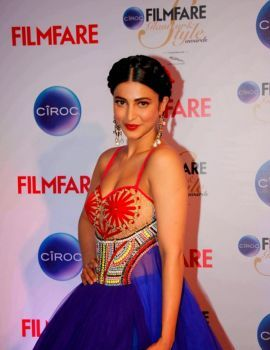 Shruti Haasan Photos at Ciroc Filmfare Glamour Style Awards