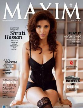 Shruti Hassan Maxim Hot Photoshoot