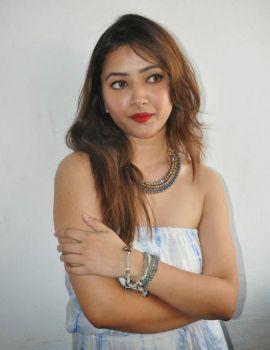 Actress Shweta Basu Prasad at Intelligent Idiots Press Meet