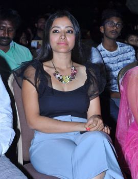 Shweta Basu Prasad at Mixture Potlam Movie Audio Event