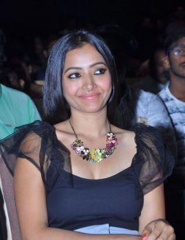 Shweta Basu Prasad at Mixture Potlam Movie Audio Event