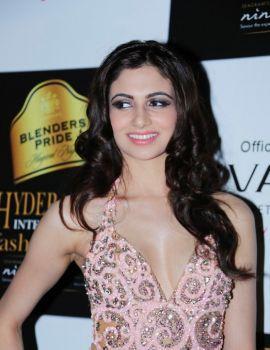 Simran Kaur Mundi Stills at Blenders Pride Hyderabad International Fashion Week 2012