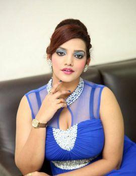 Actress SK Attiya at Danger Love Story Audio Launch