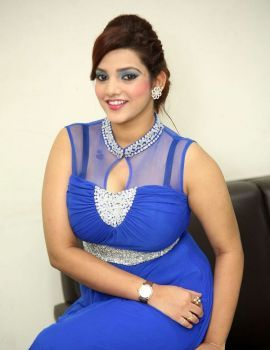 Actress SK Attiya at Danger Love Story Audio Launch