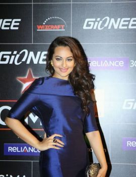 Sonakshi Sinha at 5th Annual Global Indian Music Awards in Mumbai
