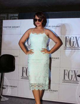 Sonakshi Sinha at FGX Eyewear Launch