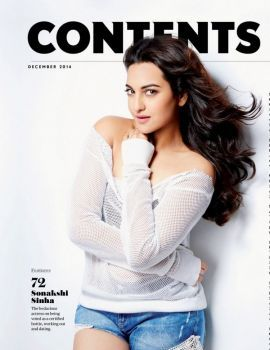 Sonakshi Sinha Hot Maxim India December 2014 Photoshoot