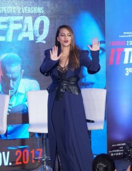 Sonakshi Sinha Photos at Ittefaq Movie Press Conference