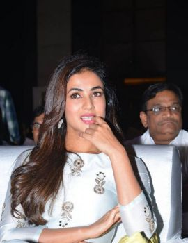Sonal Chauhan Stills at Sher Telugu Movie Audio Launch