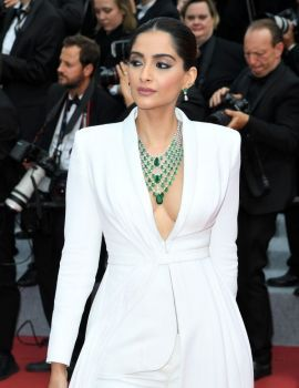 Sonam Kapoor at Once Upon a Time in Hollywood Screening at 2019 Cannes Film Festival
