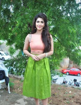 Sonarika Bhadoria Photos at Vishnu Manchu Movie Release