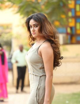 Actress Sony Charishta Stills at Mela Movie On Location Press Meet