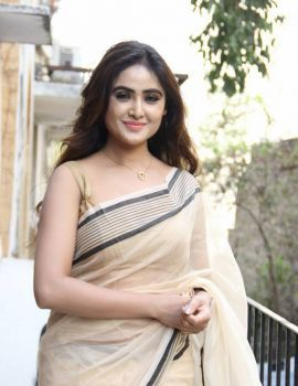 Sony Charishta in Traditional Saree Stills at Desire Exhibition and Sale Curtain Raiser