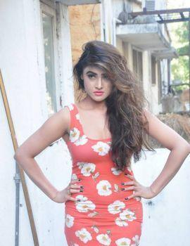 Sony Charishta Latest Stills in Red Floral Dress