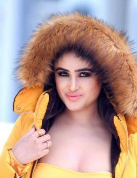 Sony Charishta Photo Shoot Stills in Yellow Jacket