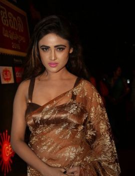 Sony Charishta Photos at Gemini TV Puraskaralu 2016