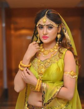 Sony Charishta Pics at Khwaaish Bridal Exhibition Launch