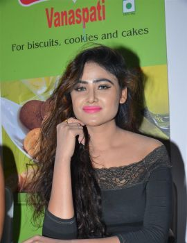 Sony Charishta Stills at Bakers Technology Fair 2016
