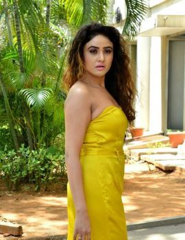 Sony Charishta Stills at Mela Movie Teaser Launch