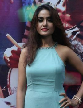 Sony Charishta Stills at Tamil Movie Injimarappa Interview