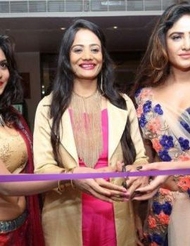 Sony Charishta Stills at Trendz Vivah Expo Launch