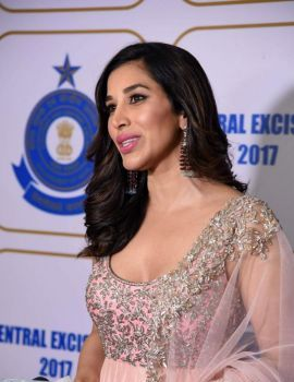 Sophie Choudry at Central Excise Day Celebration Event