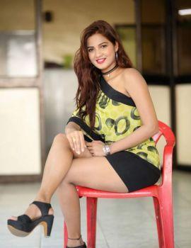 Sravani Nikki Stills at Life Anubhavinchu Raja Success Meet
