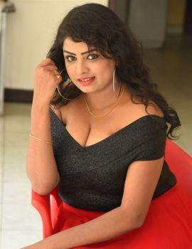 Telugu Actress Sridevi Panidala Stills at Hello Madam Movie First Look Launch