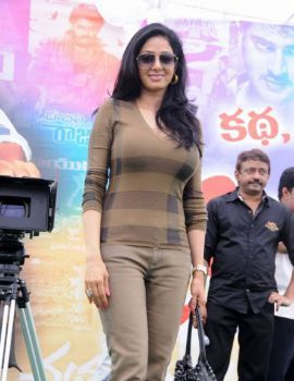 Sridevi at RGV'S Appalaraju muhurat