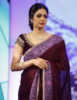 Sridevi at TSR-TV9 Film Awards Function 2011-12