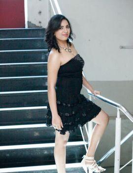 Srushti Dange Photos at April Fool Movie Audio Platinum Disk Function
