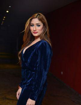 Telugu Actress Sufi Khan Stills at Hyderabad Nawab 2 Trailer Launch