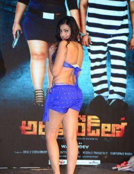 Telugu Actress Sufi Sayyad Stills at Araku Road Lo Audio Launch
