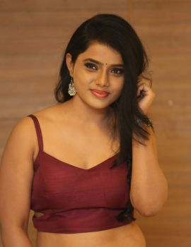 South Indian Model Sumaya Choco Stills at 24 Kisses Audio Launch