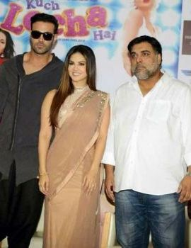 Sunny Leone at Kuch Locha Hai Hindi Movie Promotion in Delhi