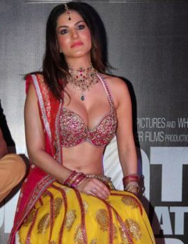 "Sunny leone at Shootout Wadala movie item song ""Laila Teri Le Legi"" launch event"