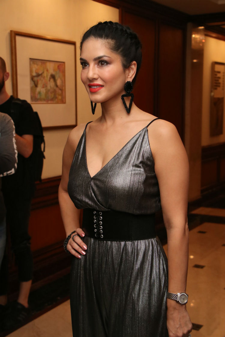 Sunny Leone at Zee5 The Untold Story Event Stills
