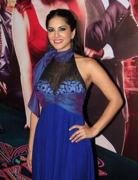 Sunny Leone Stills at Jackpot Movie Official Trailer Launch